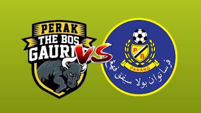 Live Streaming Perak vs Pahang Piala Malaysia 14.9.2019