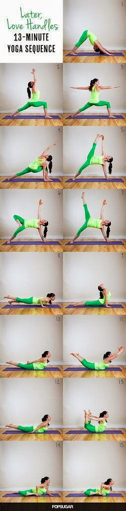 Source: www.PopSugar.com | Later, Love Handles 13 Minute Yoga Sequence