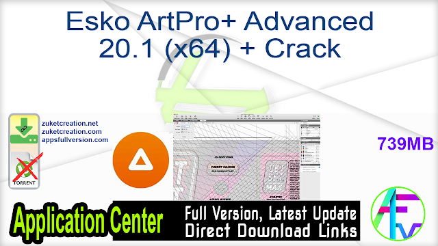 Esko ArtPro+ Advanced 20.1 (x64) + Crack