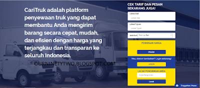 Caritruk.com Jasa Penyewaan Truk Terpercaya di Indonesia