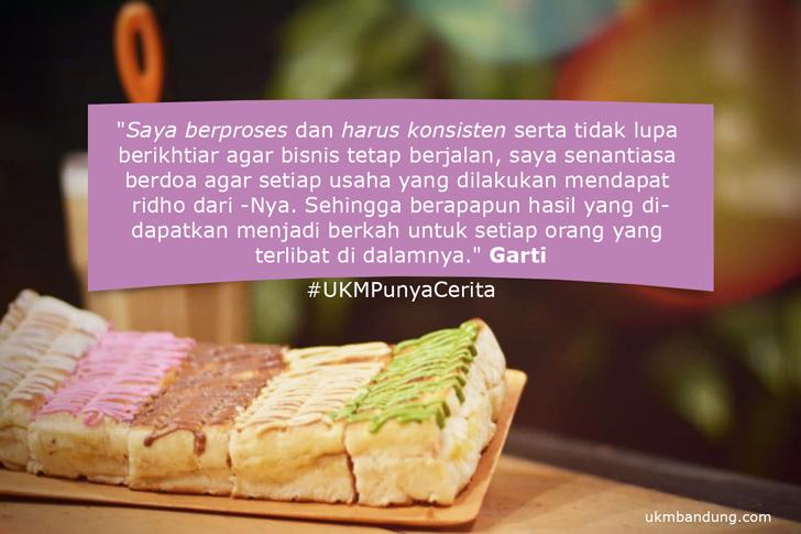 """Roti Bakar WOW Bandung Menawarkan Produk Inovatif """"Roti Bakar dengan Puff Pastry"""