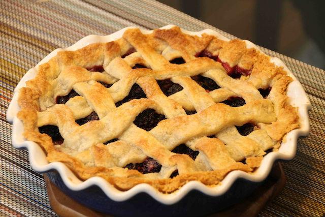 receta de tarta de moras