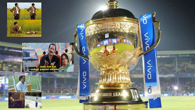 IPL 2020 Schedule delayed, Fans shared hilarious memes in twitter.