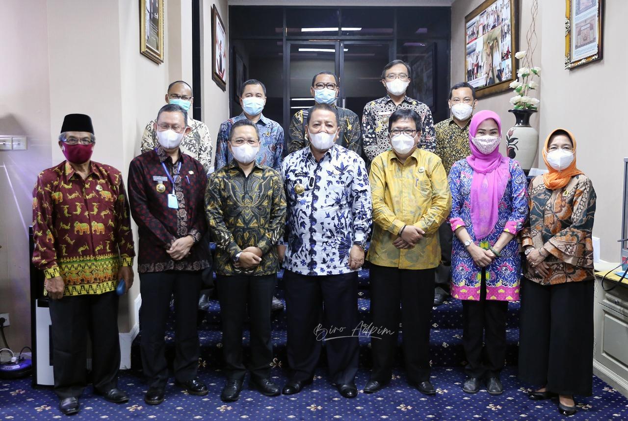 Gubernur Arinal Minta ICMI Lampung Berperan Aktif Ikut Wujudkan Ekonomi Kerakyatan di Tengah Pandemi Covid-19