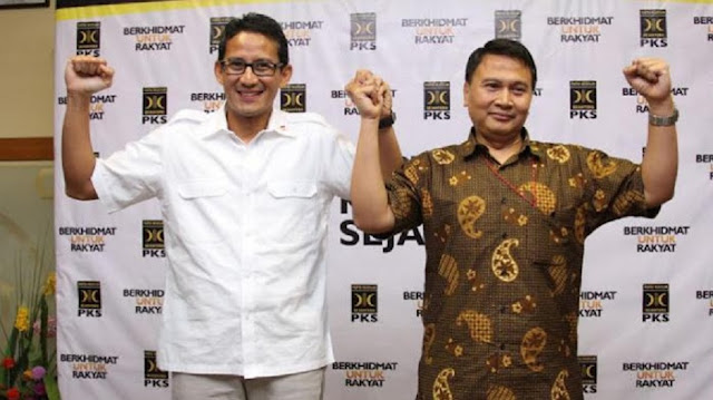 Partai Keadilan Sejahtera (PKS) membuka pintu selebar-lebarnya kepada mantan Calon Wakil Presiden Sandiaga Salahuddin Uno bila ingin bergabung dengan partai berlambang padi dan bulan sabit.