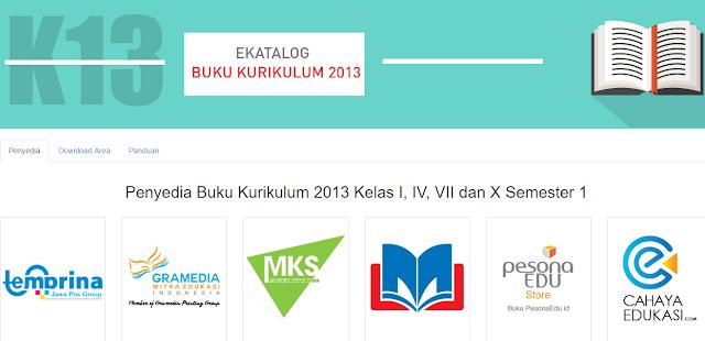 Cara Pembelian Buku Kurikulum 2013 Secara Online e-katalog LKPP di Perusahaan Percetakan