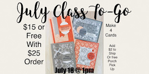 JULY CLASS TO-GO