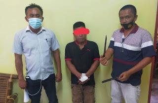 Gegera Hal Sepele, Kiranta Padang Tikam Rekan Satu Kampung di Sidikalang