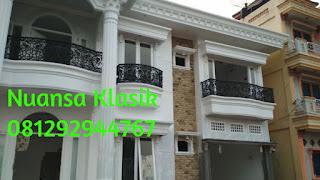 pemasangan railing balkon besi tempa klasik pangkalpinang