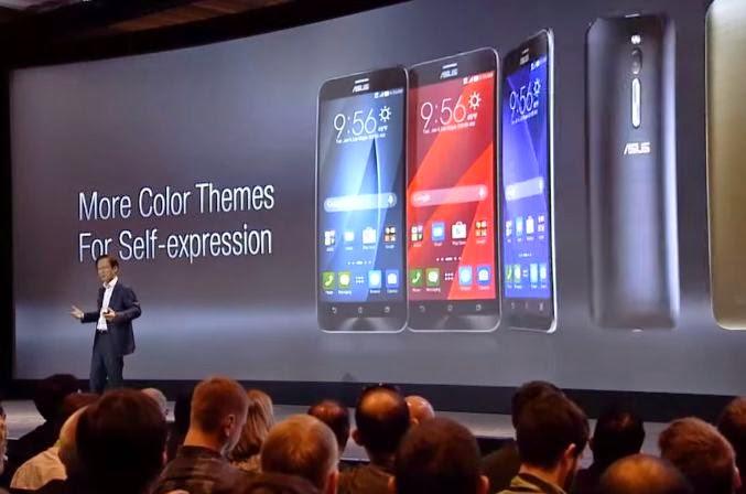 Asus Zenfone Zoom And Asus Zenfone 2 Smartphone Unveiled In CES 2015