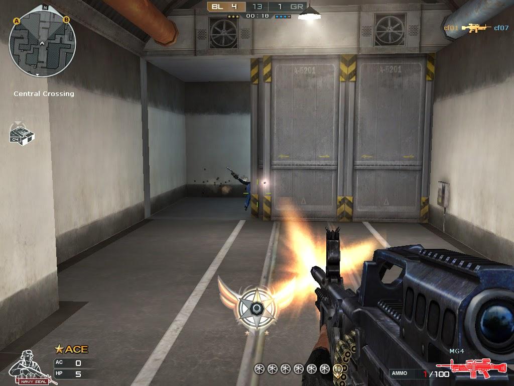 صورة من داخل لعبة كروس فاير CrossFire