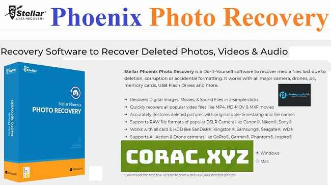 Stellar Phoenix Photo Recovery full crack