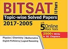 Bitsat 2500+ MCQs for JEE and NEET Exam PDF