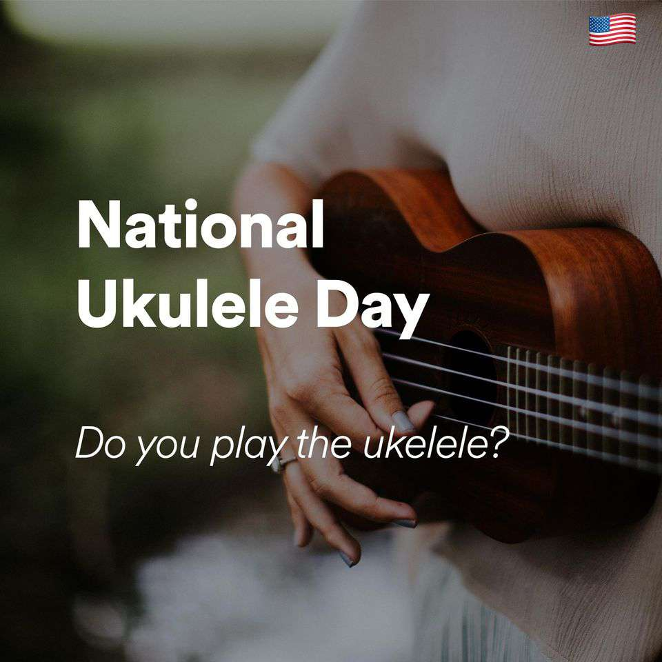 National Ukulele Day Wishes Awesome Images, Pictures, Photos, Wallpapers