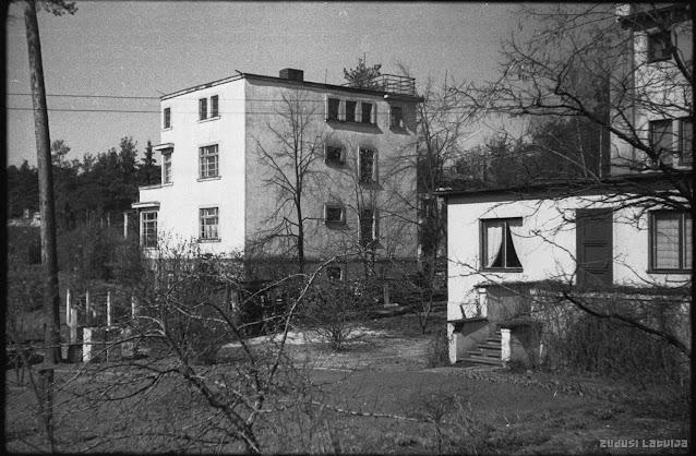 1950-е годы. Рига. Межапарк. Nami Em. Dārziņa ielā 10 un 12