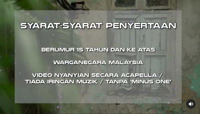 Tarikh Ujibakat I Can See Your Voice Malaysia 4.