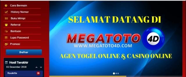 Agen Togel Online Terbaik Megatoto4d.com