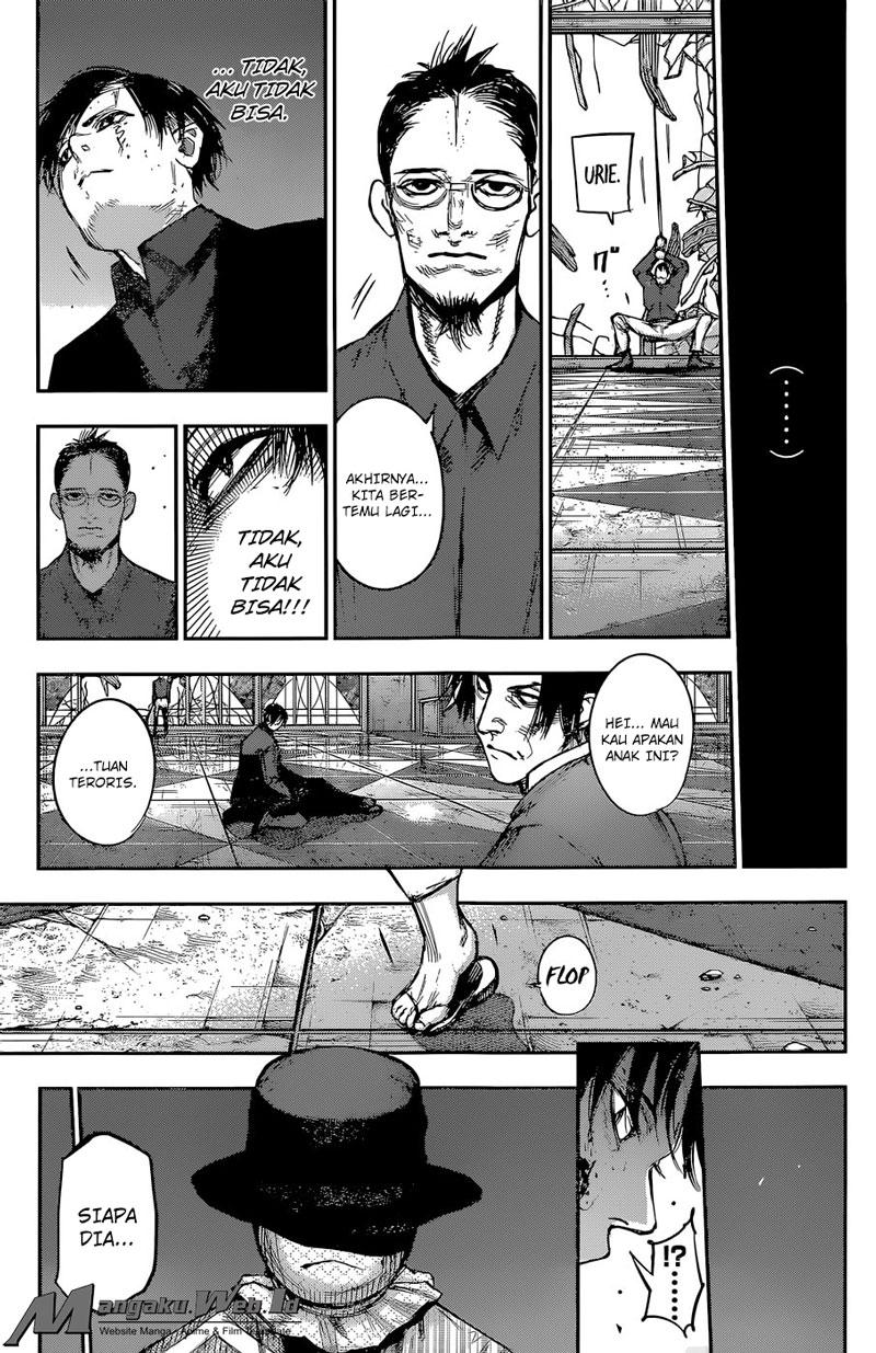 Tokyo Ghoul:re Chapter 138 : Terjatuh Dari Menara