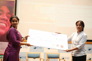 MathAdventures and EdgeFx, two women led StartUps were among the ten pitches pitched at just concluded Angels Summit identified as Innovative Projects and presented Rs One Lakh Cash Prize each