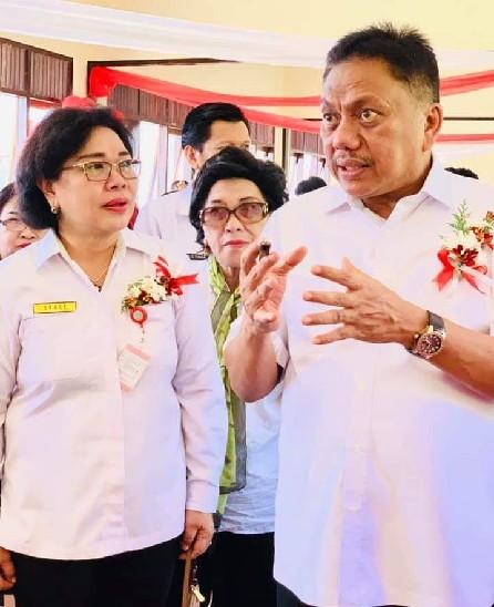 Gubernur Resmikan Sejumlah Bangunan Sekolah di SMKN 8