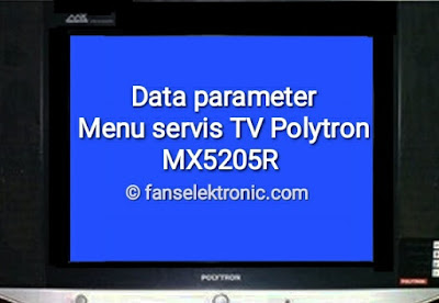 data parameter tv polytron mx5205r
