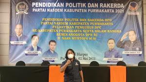 Pelantikan DPC Partai Nasdem Dan Rakerda Partai Nasdem Kabupaten Purwakarta 2021