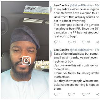 """Why Can't We Register Or Buy SIM Cards, It Is Affecting Us"" - BBNaija Leo Slams Nigeria Govt"