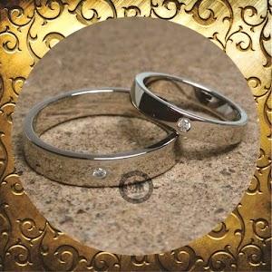 cincin paladium perak p5088
