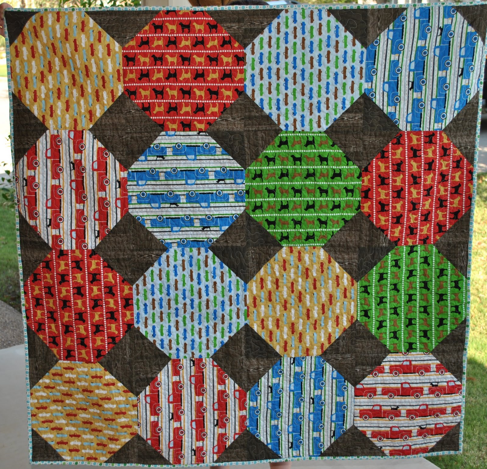 Go, Fetch! Quilt