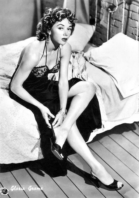 1954. Gloria Grahame - publicity photo for Naked Alibi