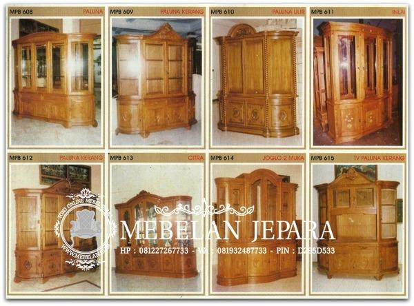 Bufet Jati Mebel Ukir Jepara MPB 2007-3