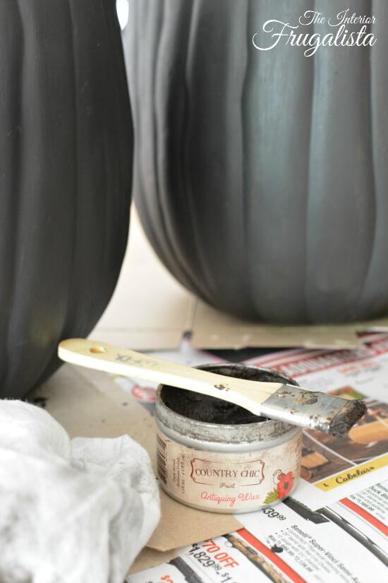 Pumpkin Topiary Dark Wax