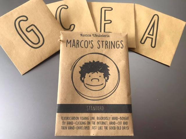 Marco's Strings for ukulele