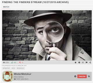 Finding the Finders - Mister Metokur