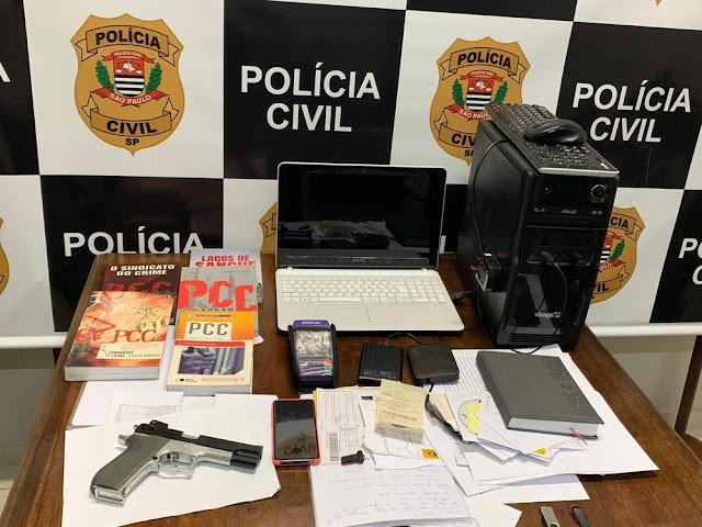 Operação Camaleão prende advogado suspeito de envolvimento com o crime organizado em Pres. Prudente