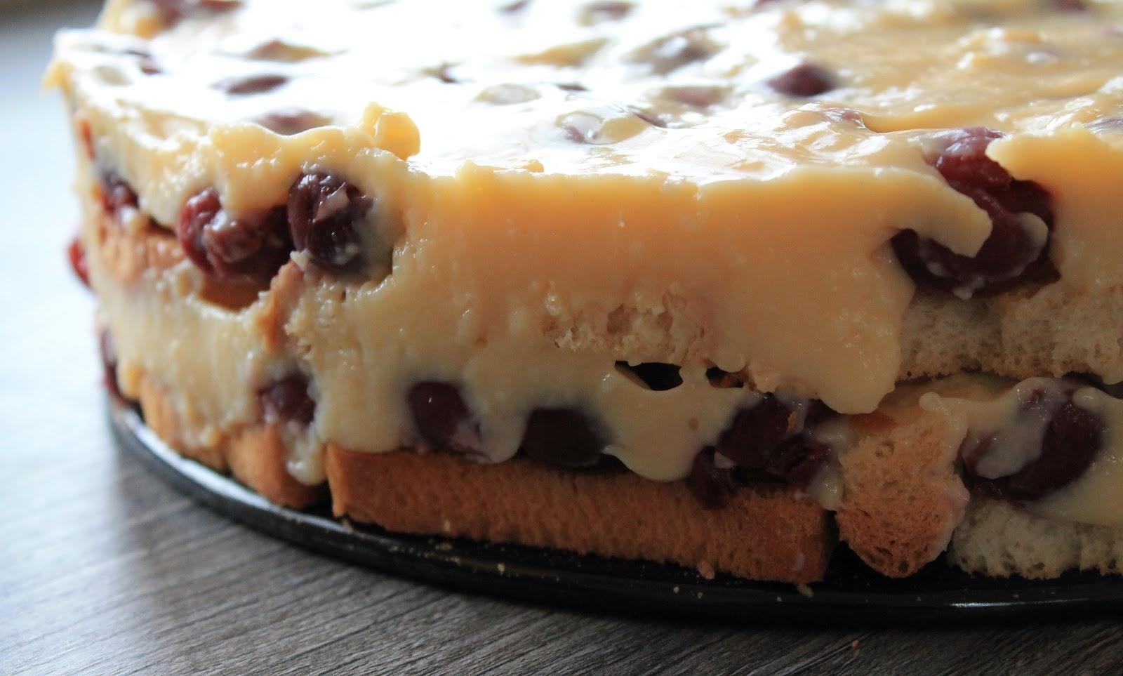 Svenja S Koch Und Backblog Pudding Kirsch Kuchen