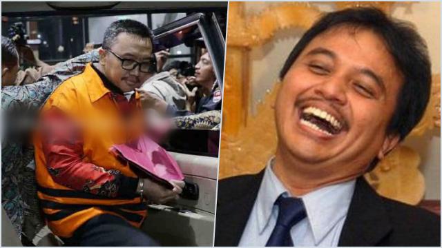Disindir Kasus Perabotan Rumah Menteri, Roy Suryo Sebut Imam Nahrawi Telah Kena Karma