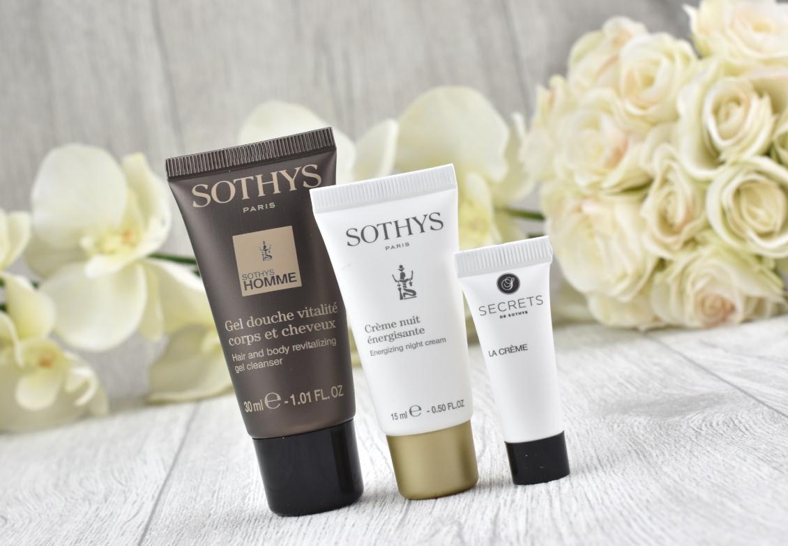 SOTHYS Box Winter-Edition - Duschgel - Nachtcreme - Secrets de Sothys Crème jeunesse Premium