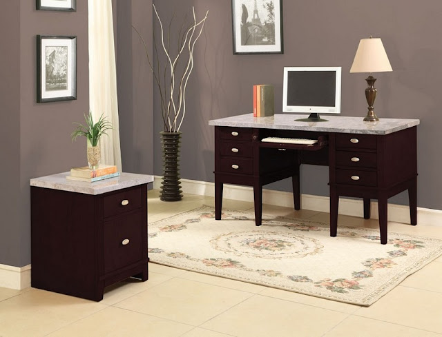 best buy home office desk marble top for sale