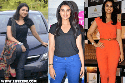 Parineeti Chopra Weight Loss Before & After Photos