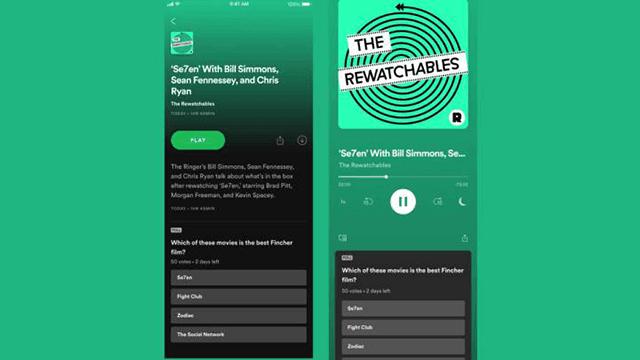 Aplikasi Podcast Spotify