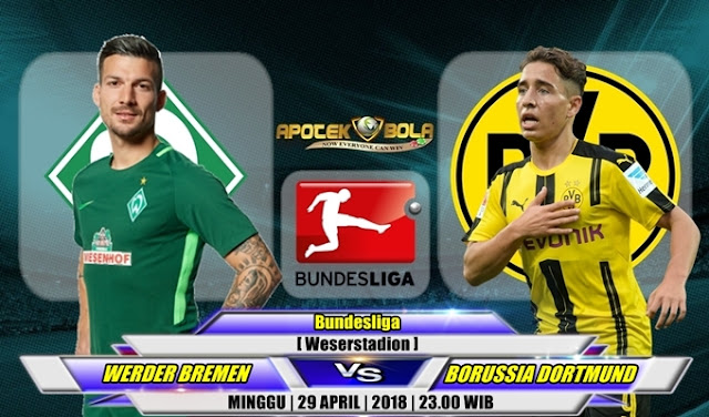 Prediksi Werder Bremen vs Borussia Dortmund 29 April 2018