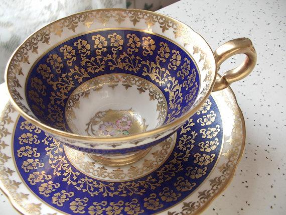 Shoponsherman Vintage Paragon China Tea Cup And Saucer