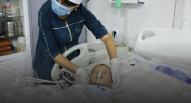 В России двухлетний ребенок впал в кому после того, как его избил родной отец