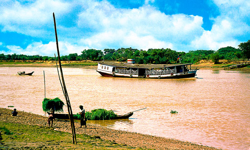 Irrawaddy Flotilla Company River Vessel