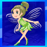 Games4King Green Fairy Girl Escape
