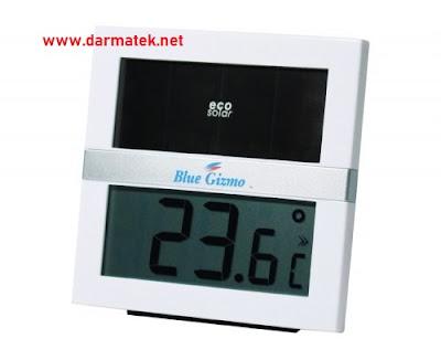 Darmatek Jual BG-HTS100 BLUE GIZMO ECO Solar - Digital Solar Thermohygrometer