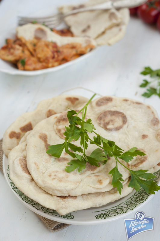 Naan przepis