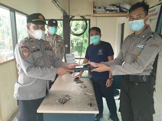 Dukung Pelaksanaan Tugas Satpam, Sat Binmas Berikan Sarana Kontak
