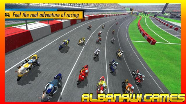 تحميل لعبة Real Bike Racing MOD للأندرويد من الميديا فاير